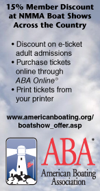 15% Member Discount at NMMA Boat Shows